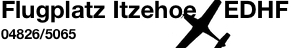 Flugplatz Itzehoe EDHF